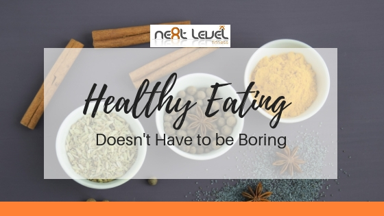 Healthy eating doesn't have to be boring