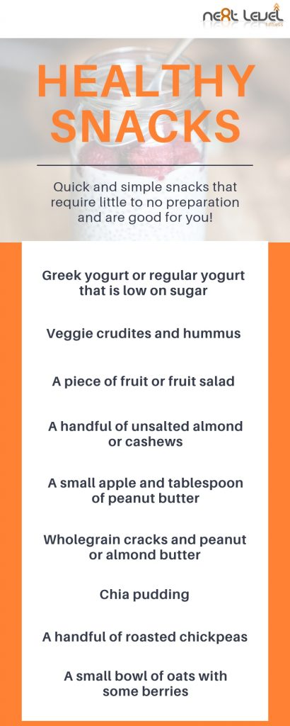 A Quick and Simple Guide to Healthy Snacking